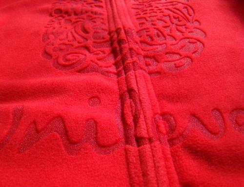 Lasered Fabric